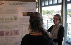 PB PhD graduate student Christina Stonoha