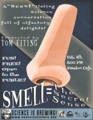 Smell Science Cafe poster