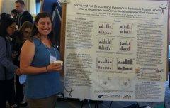 PB graduate student Elisha Allan-Perkins