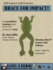 May Science Café Poster