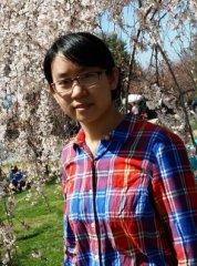 PB graduate student, Huiyuan Guo