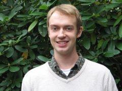 PB graduate student Josh Coomey