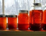 Maple syrup jars
