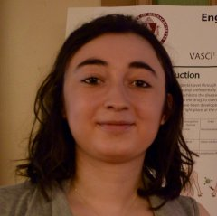 MCB Student, Mine Canacki 2016 AAI Immunology Fellow