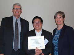 photo of Dean Goodwin, Peter Chien and Jennifer Normanly