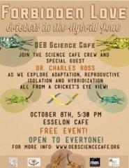 October Science Café Flyer