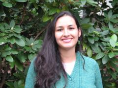 PB PhD graduate student Sandra Romero Gamboa