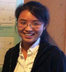 PB PhD graduate student, Zhongyun Huang